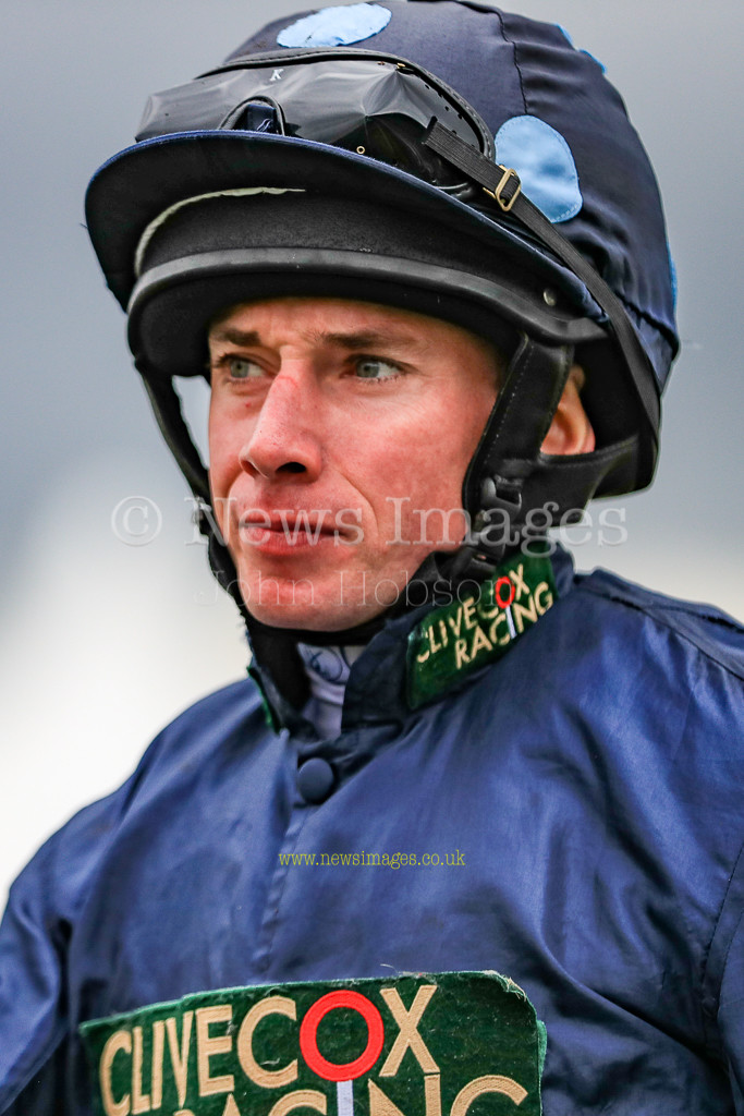 15th September 2018, Doncaster Racecourse, Doncaster, England; 2018 St Leger Festival William Hill St Leger Day, 13.50 William Hill Portland Handicap, Ryan Moore in the 13.50