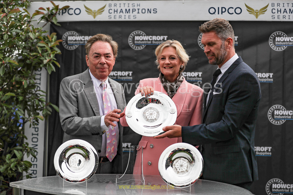 15th September 2018, Doncaster Racecourse, Doncaster, England; 2018 St Leger Festival William Hill St Leger Day, 15.00, Howcroft Industrial Supplies Champagne Stakes (Group 2) ; Lord & Lady Webber
